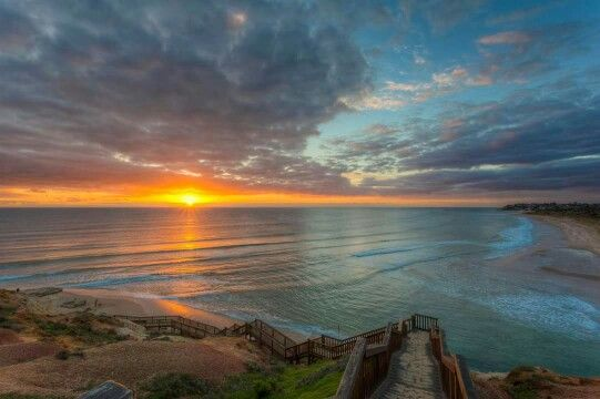 Michael Waterhouse Photography Onkaparinga Rivermouth, Southport Beach,  Australia