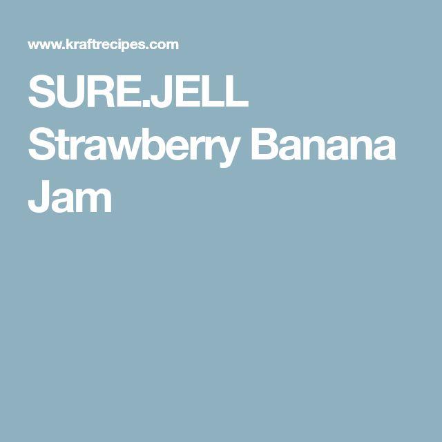 SURE.JELL Strawberry Banana Jam