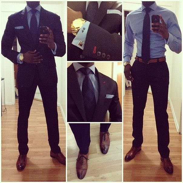 Men how to Dress. Please take notes.