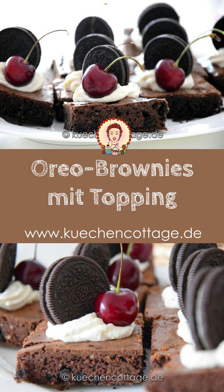 Oreo-Brownies mit Topping | Küchencottage…