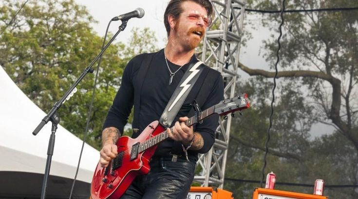 They say any publicity is good publicity, but Eagles of Death Metal would certainly beg to differ.  All five members of the band, who were onstage when shots first rang out, escaped to safety during the horrific terrorist attack – but their merchandise manager, Nick Alexander, was among the more than