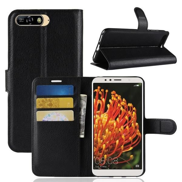 coque huawei y6 2017 wish | Pu leather wallet, Leather wallet case ...