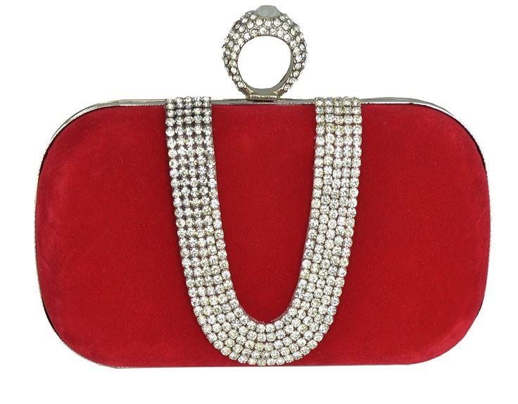 Bolsa De Mão Para Festa Vermelha : Melhores ideias sobre bolsa clutch vermelha no