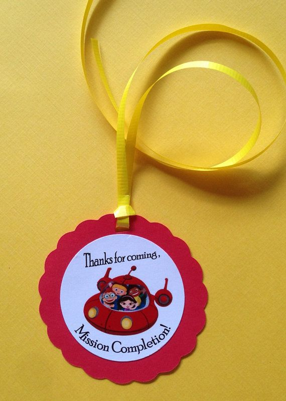 Little Einsteins Birthday Party/Favor Tags by PartyXtras on Etsy, $5.00