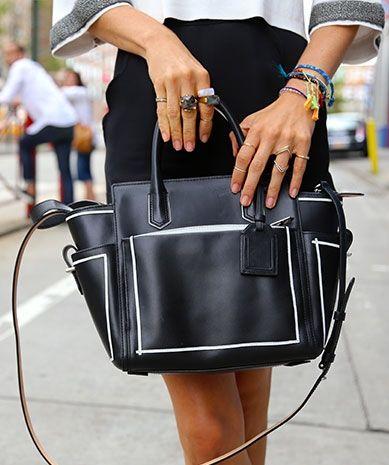 That bag! NYFW