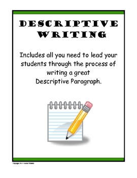 topics for descriptive writing middle school These descriptive writing prompts for high school students will encourage your teens eager to describe objects, people, events, and personality traits.