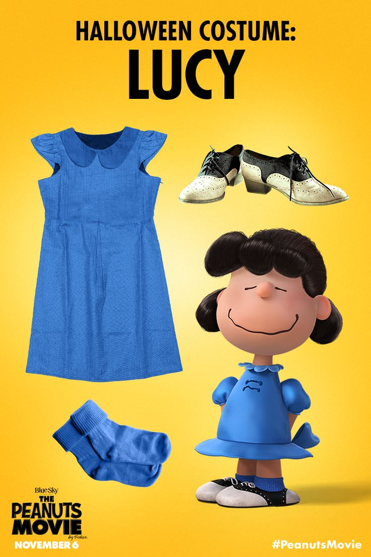 Here's some advice: dress like Lucy this Halloween. #PeanutsHalloween