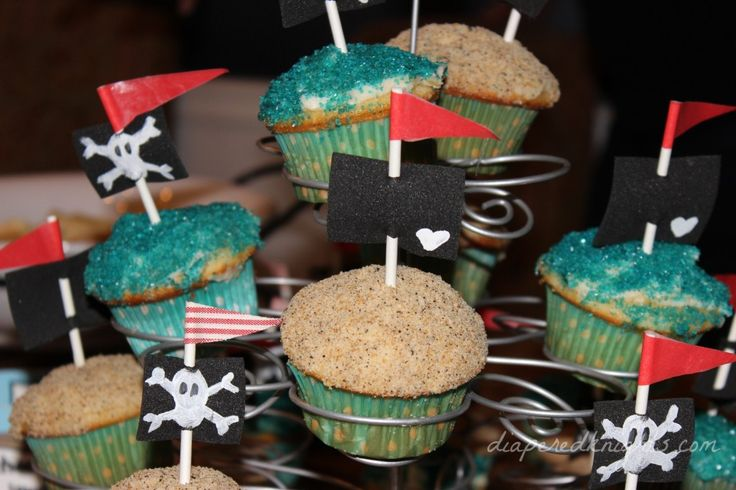 Pirate and Mermaid Party Food Ideas