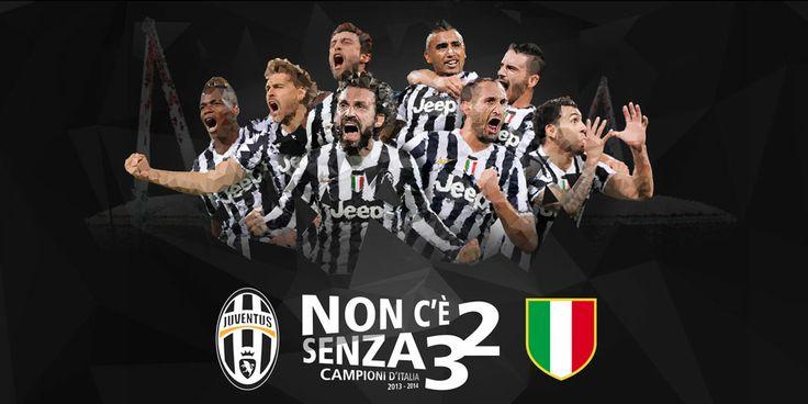 Juventus Campione d'Italia.  La Juventus ha cucita la terza stella sulla maglia oggi domenica 4 maggio senza neanche giocare. Il tonfo della Roma a Catania (1 a 4) nella 36esima giornata di campionato produce questo effetto sul campionato di calcio italiano.