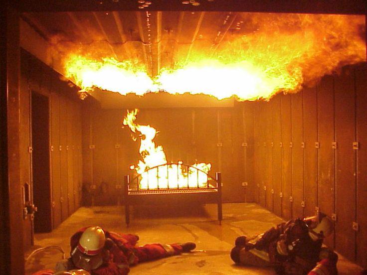Flashover is een nachtmerrie voor brandweerlieden