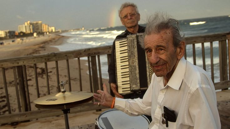 This short documentary profiles two elderly Holocaust survivors in Florida who recently formed their own klezmer band.