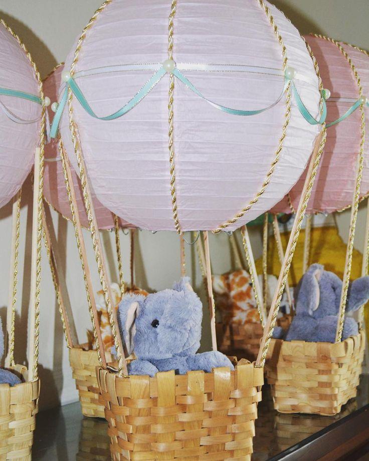 Hot Air Balloon Birthday  #hotairballooncenterpieces #centerpieces #hotairballoon #elephant #takemeonanadventure #hotair #firstbirthday