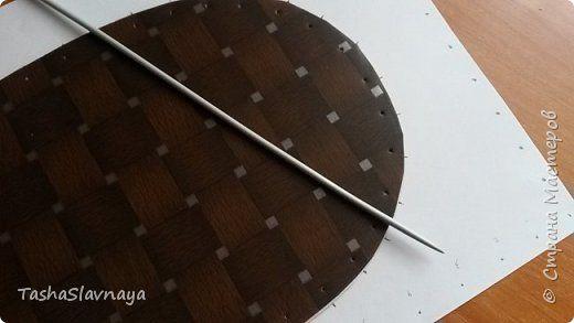 Gute Nacht, das Land der Meister!  Fertige Schuljahr ... iteper alles, was sicherlich konzipiert bittet kostenlos) Werkzeuge zu brechen: Schere, Radiergummi, Form (für opletaniya) Speichen N4 und 2 Materialien: Pappe, Klebeband, Papierröhren, PVA Leim, Lack aklilovy.  Foto 10