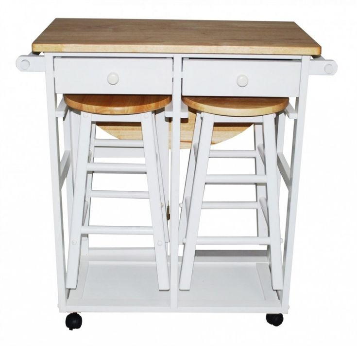 Kitchen Island Cart With Seating Desired : Charming Small Furniture Using  White Wood Kitchen Island Cart