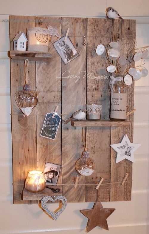 Decoratief wandbord 'Loving Memories'