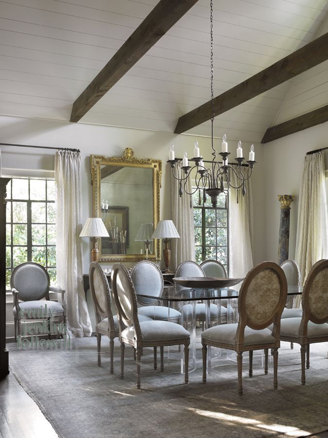 Carter Kay Interiors Used Niermannweeks Chevalier Chandelier In This Dining Room