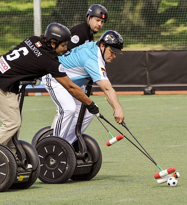 Segway Polo World Cup - Did You See That? - Photos - SI.com