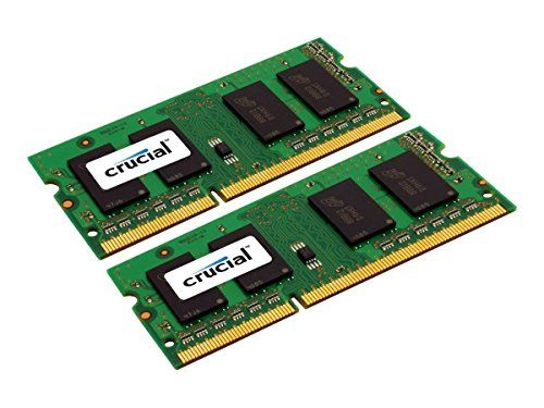 Crucial 16GB Kit 8GBx2 DDR3L 1600 MTs PC3L12800 SODIMM 204Pin Memory  CT2KIT102464BF160B * To view further for this item, visit the image link.