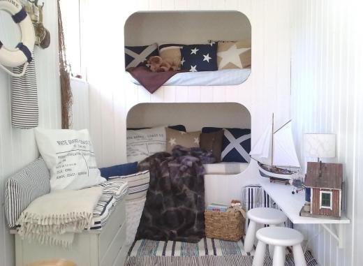 Barnrum i New England stil | QuteCat | inspiration från IKEA