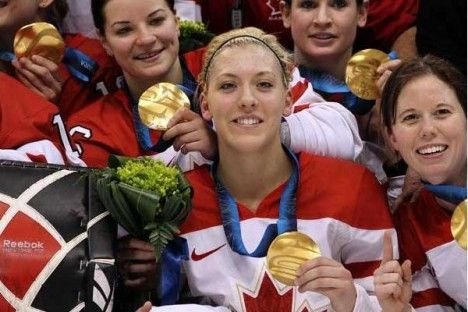 The goals keep on coming for two-time Olympic gold medalist Meghan Agosta. She has made a name for herself in the hockey world and continues to dominate in women's hockey. #Canada #TeamCanada #hockey #Olympics #IIHF #NCAA #champion #charity #Canadian