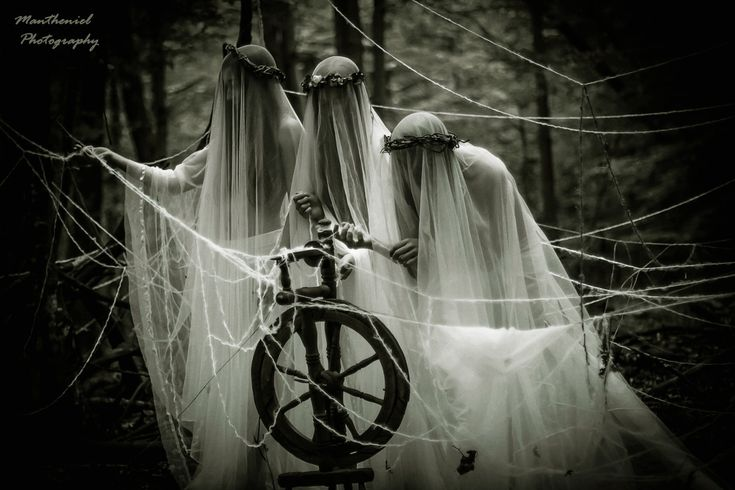The three Norns - Spinners of fate