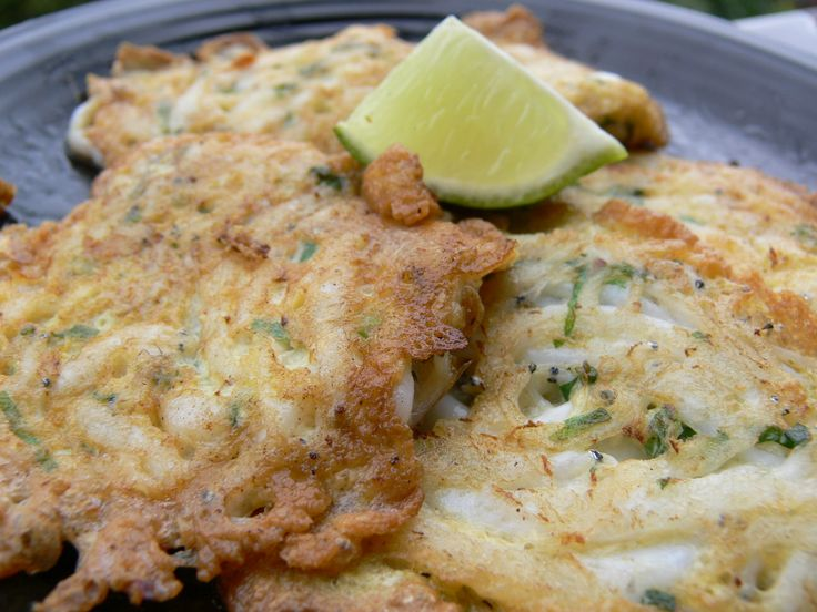 white bait fritters