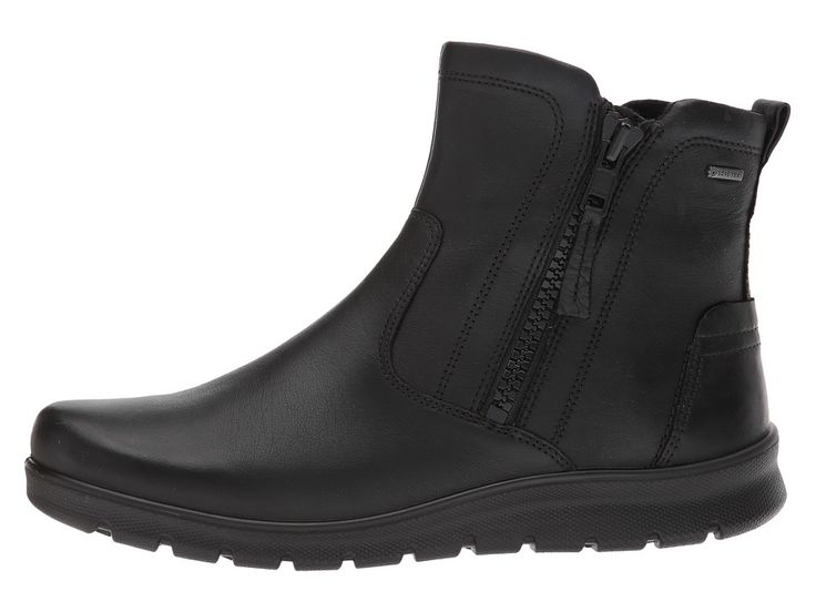 ECCO Babett GTX Bootie Women's Boots Black Cow Leather