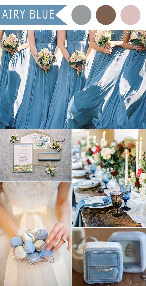 251 best Blue Weddings Ideas images on Pinterest | Weddings, Color ...