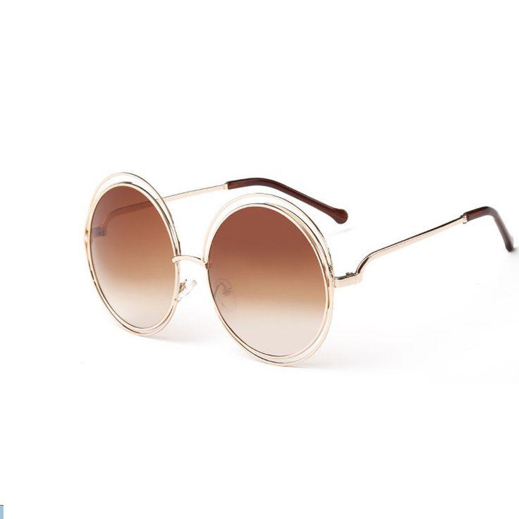 2016 Retro Round Women Sunglasses Fashion Brand Designer Vintage Ladies Sun Glasses for Women Glasses Oculos De Sol Female #clothing,#shoes,#jewelry,#women,#men,#hats,#watches,#belts,#fashion,#style