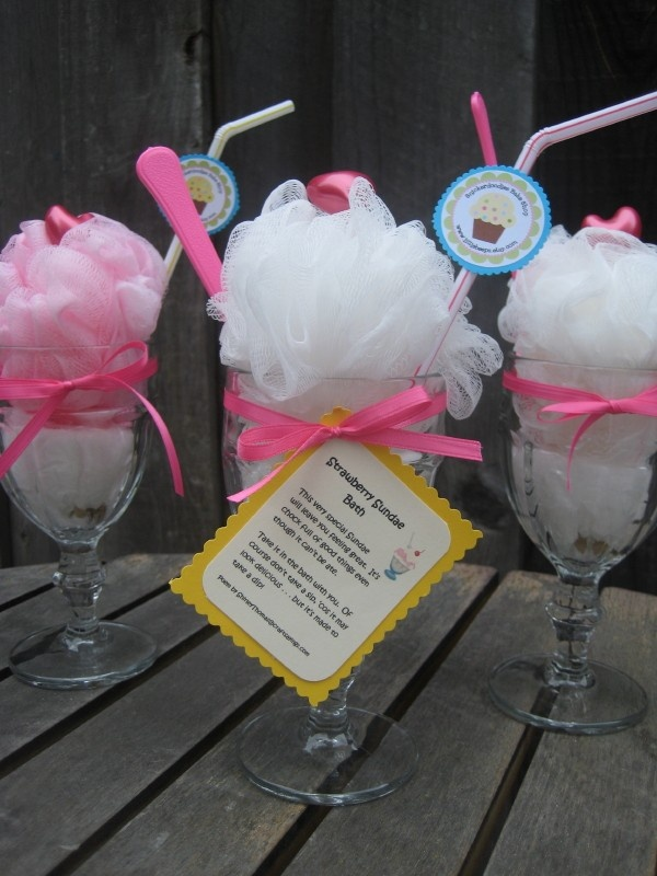 Strawberry Ice Cream Soda Sundae Bath Salts