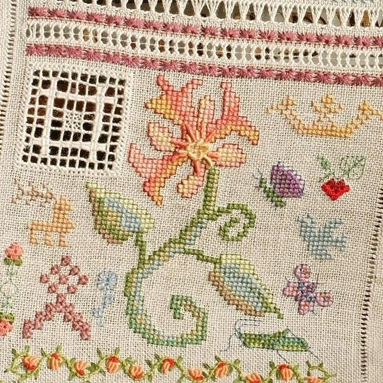 The Embroideress Band Sampler - The Cross Stitch Guild