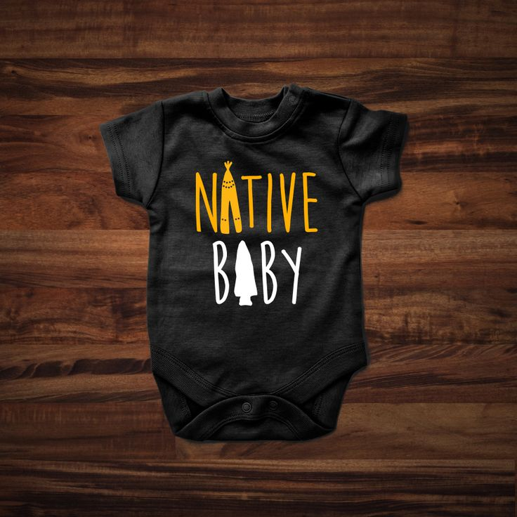 Super Cute Native Baby onesie. Show your Native American pride.