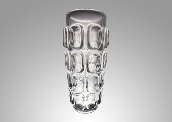 Frantisek Vizner  vaso in vetro vintage  1960s Sklo Union