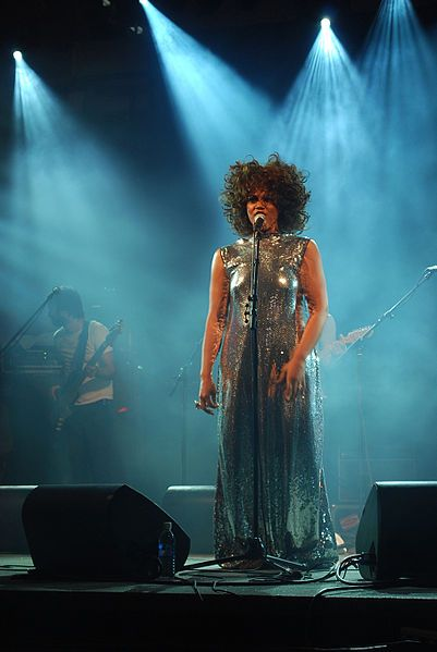 Measha Brueggergosman (1977--) is a Canadian soprano who performs both as an opera singer and concert artist. She has performed internationally and won numerous awards. She was awarded the Grand Prize at the 2002 Jeunesses Musicales Montreal Competition and won First Prize at the International Vocal Competition in 2004. She is the recipient of the prestigious Canada Council and Chalmers Performing Arts grants, and a Juno Award in 2008.