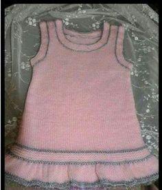 Yakadan Başlama Küçük Deniz Dalgası Örneğinde Kurdele Süslemeli Çocuk Elbisesi Yapımı. 1 yaş 18