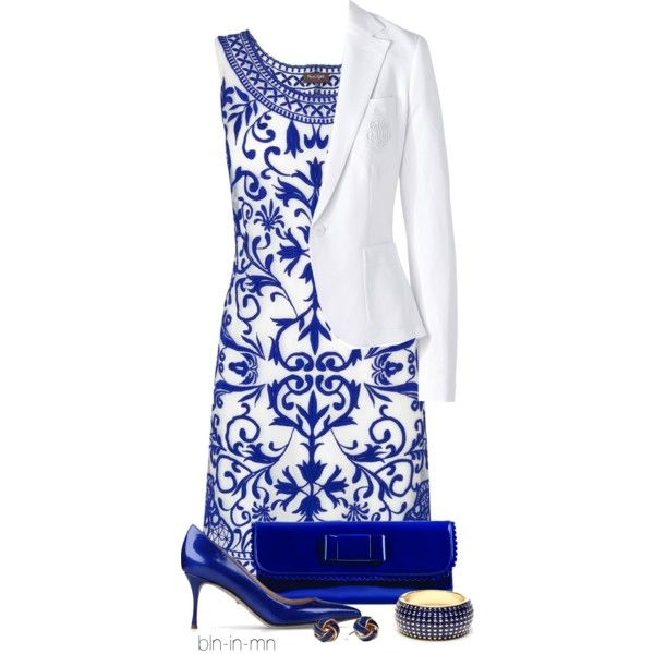 Royal Blue & White <3   (No promises, but I'd try so hard not to spill...)