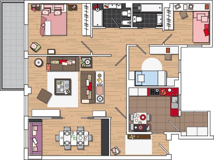 piso-rejuvenecido09 pequeño y coqueto piso para empezar una nueva vida