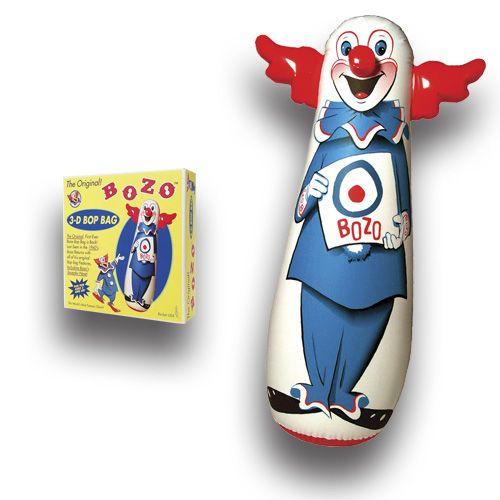 Bozo Punching Bag: Childhood Memories, Boop Bags, 70S, Bozo Punch, Bozo Bags, Big Clowns, Punch Bags, Bop Bags How, Bags Clowns Lov