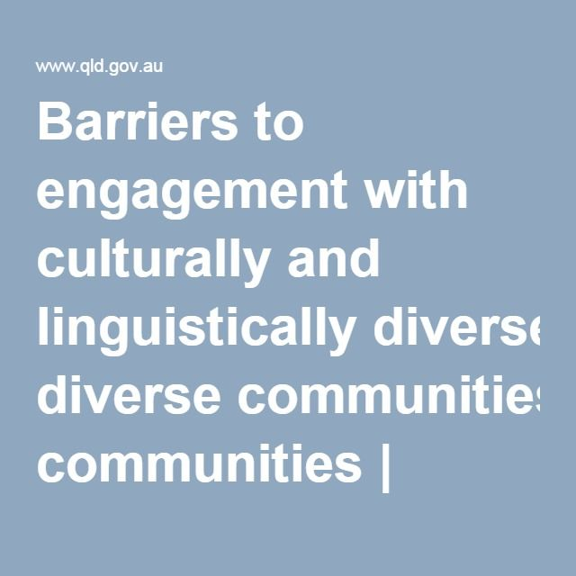 Barriers to Effective Communication -  Informs about various barriers to engagement which can be viewed from two perspectives — the community and that of the public sector