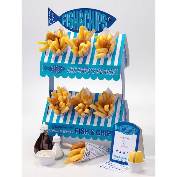 FISH AND CHIP FOOD STAND - SIMPLY SWEET SOIREES