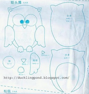 Owl pattern..would be perfect for the circle skirt project posted earlier by Freddie Strawbridge.