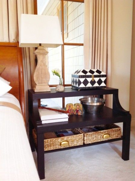lack coffee table hack bedside two-tier nightstand
