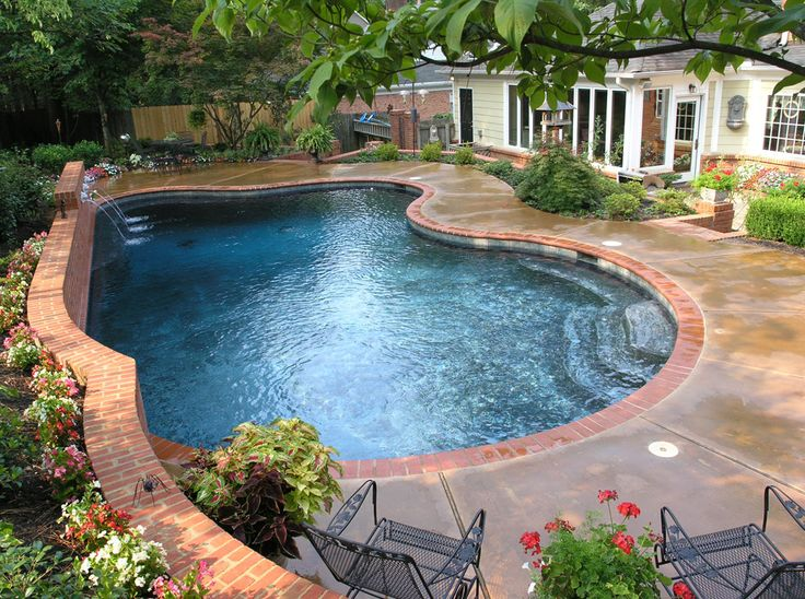 Memphis pool freeform swimming pool getwell tn - Swimming pool companies in memphis tn ...