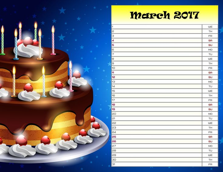 Remember all the important family dates with a DIY birthday reminder calendar. Get started with http://photo-calendar-software.com/download.php and make a printable planner for a month or a whole year! #CalendarDesign #BirthdayReminderCalendar