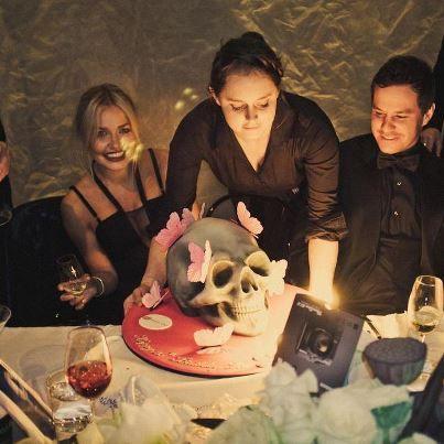 Lara Bingle x Skull Cake