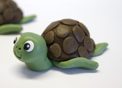 Cakes and Sweets: Turtle Cupcake I Topper