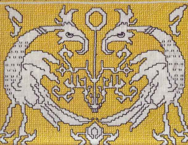 Embroidery and Embroider-punto Assisi-big pieces of work-advisers