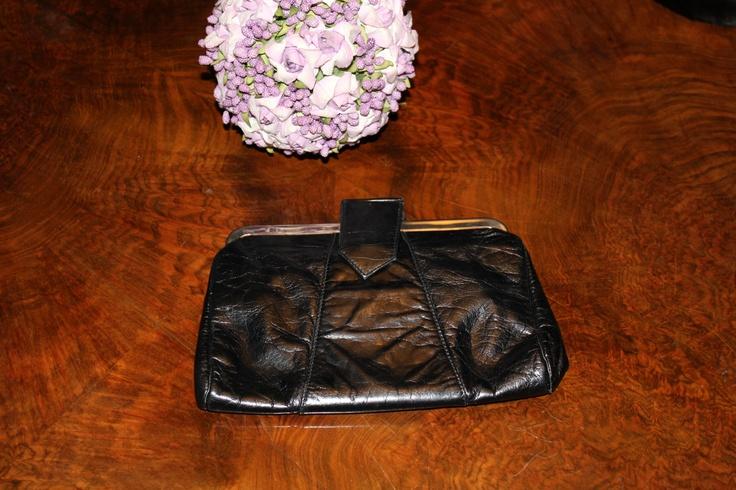 Super vintage leather pochette. Marco Valentino