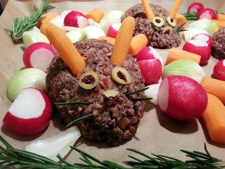 """Bei Björn wurde bereits probegekocht für Weihnachten und zwar dieser """"ganz falsche Hase"""":  http://www.gruene-smoothies-rezepte.de/vegan-wednesday-118-ein-weihnachtlicher-vorgeschmack/"""