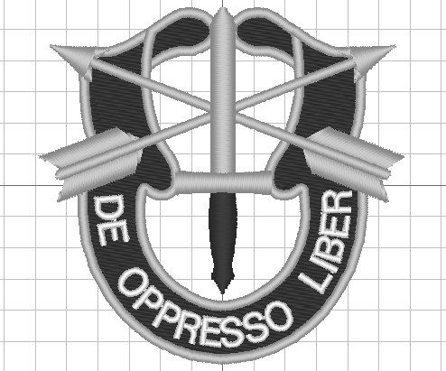 Custom listing, Special Forces crest ( instant download )